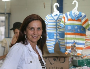 Luciana Bechara, fundadora da Be Little, que produz roupas para bebs prematuros