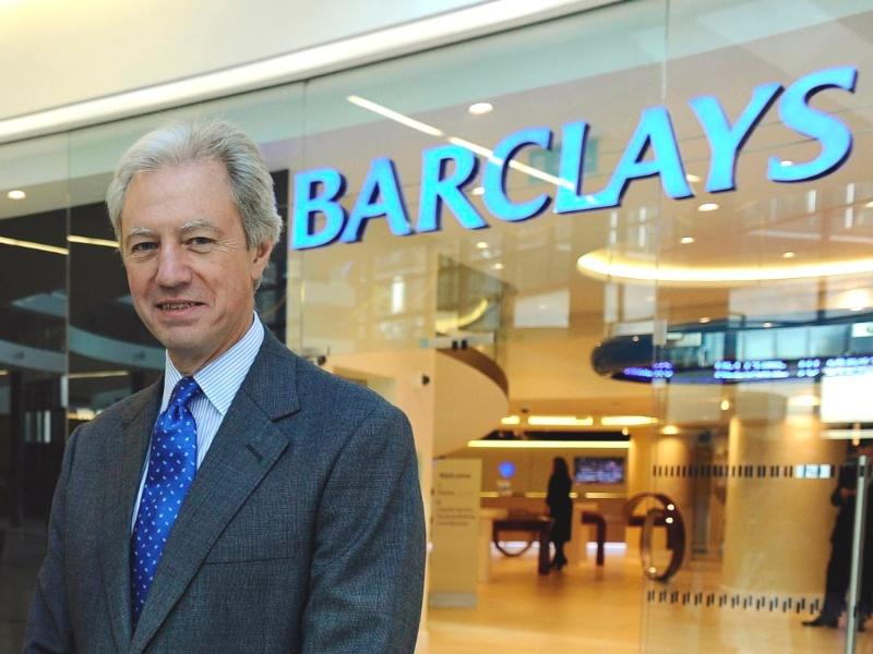 Marcus Agius, ex-presidente do conselho de administração do Barclays