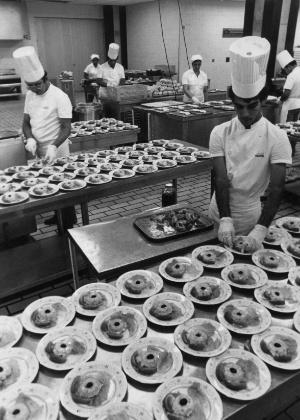Catering-Rio - Serviço de bordo da Varig em 1988