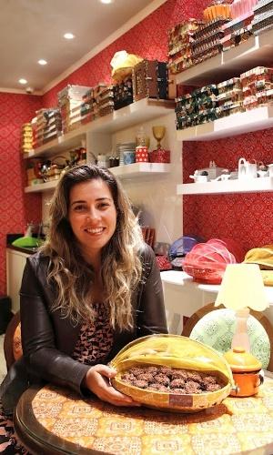 Taciana Kalili, criadora da Brigaderia