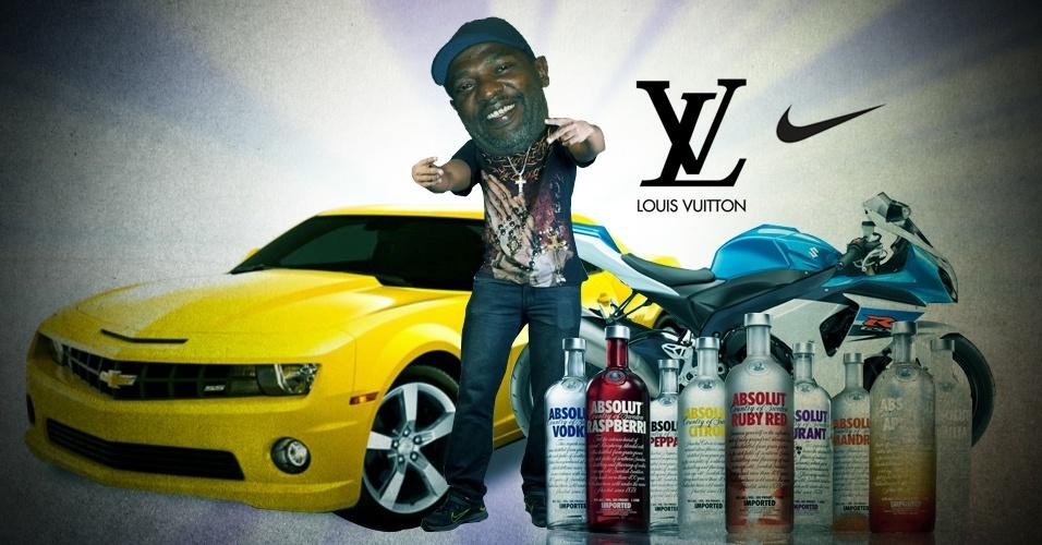 Os funks com letras recheadas de marcas de luxo têm feito cada vez mais sucesso em bailes e redes sociais, onde os vídeos das músicas chegam a ser vistos por mais de 30 milhões de pessoas; veja a seguir uma lista com algumas das principais marcas de luxo com referências nas canções, como Louis Vuitton, Ferrari e Rolex, por exemplo