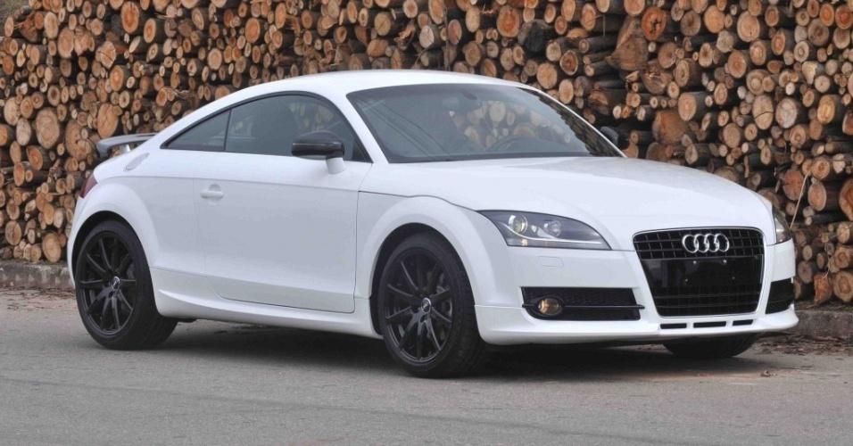 """Um carro Audi chega a custar mais de R$ 300 mil; a marca já foi diversas vezes """"homenageada"""" em música de funk"""
