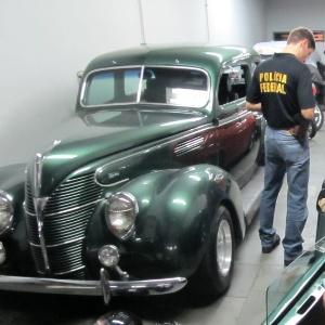 Um dos acusados colecionava carros antigos