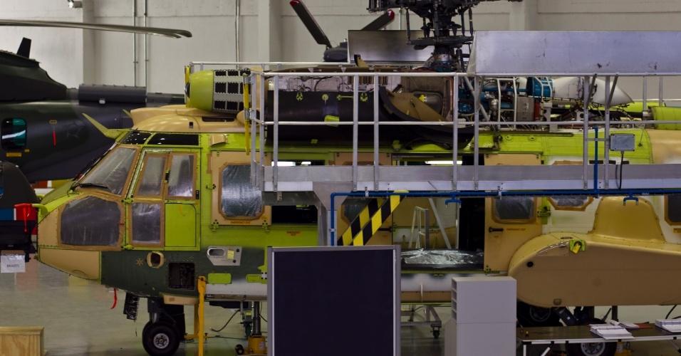 A montagem dos helicópteros militares colocam o país em um patamar acima nesse tipo de indústria; sistemas mais complexos, mísseis e radares exigem maior nível de preparação e capacitação dos funcionários