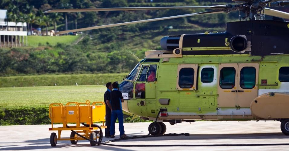 Antes da entrega do helicóptero, são realizados 21 testes de voo; a Helibrás possui uma pista destinada a realização dos testes em Itajubá (MG)