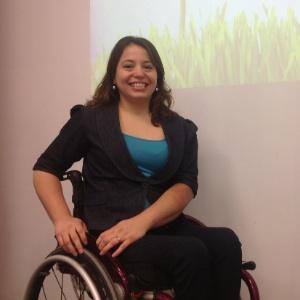 A empresária Carolina Ignarra, ficou paraplégica após sofrer acidente de moto em 2001