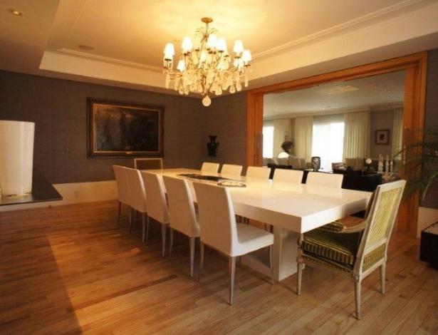 Sala De Jantar Usada Em Sp ~ Sala de jantar do apartamento na Vila Nova Conceição, em São Paulo