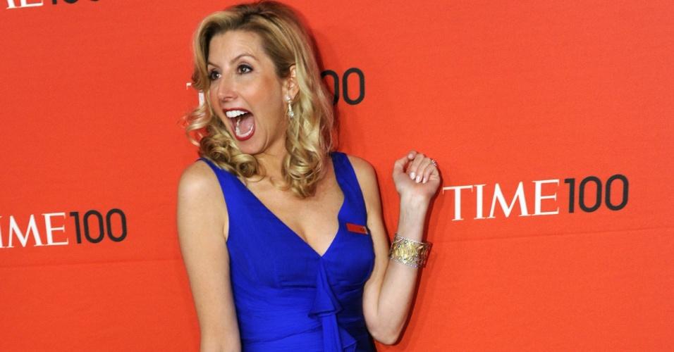 Sara Blakely, é uma empresária bilionária dos EUA