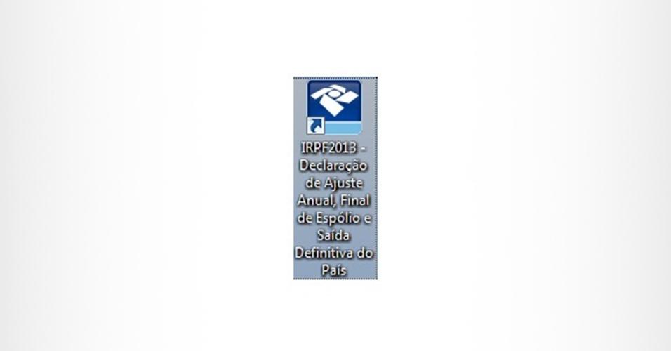 Página do passo a passo de IR 2013