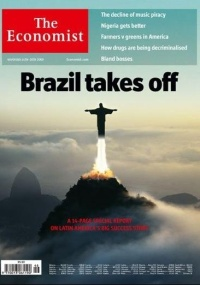"Capa da revista ""The Economist"""