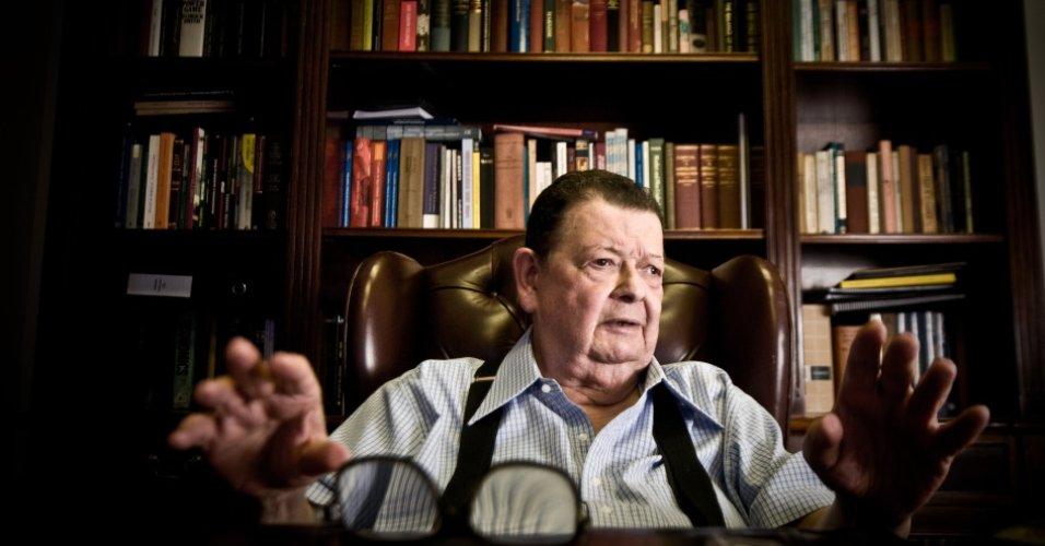 O economista e ex-ministro Delfim Netto