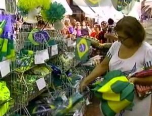 """""""Os lojistas, de fato, estavam esperando vender ainda muitos produtos verde e amarelo"""", diz analista"""