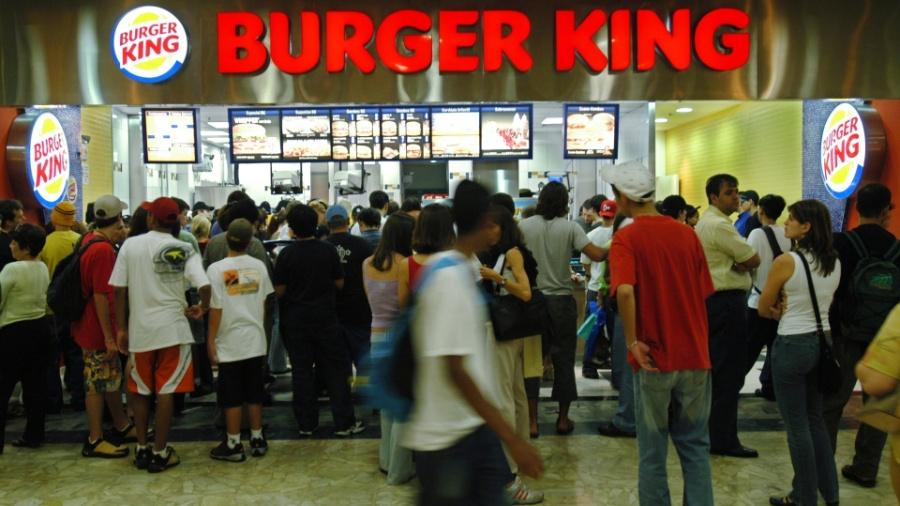 Burger King costuma ser agressivo nas ações de marketing e criou polêmica dessa vez - 02.12.04. Marcelo Ximenez/Folhapress