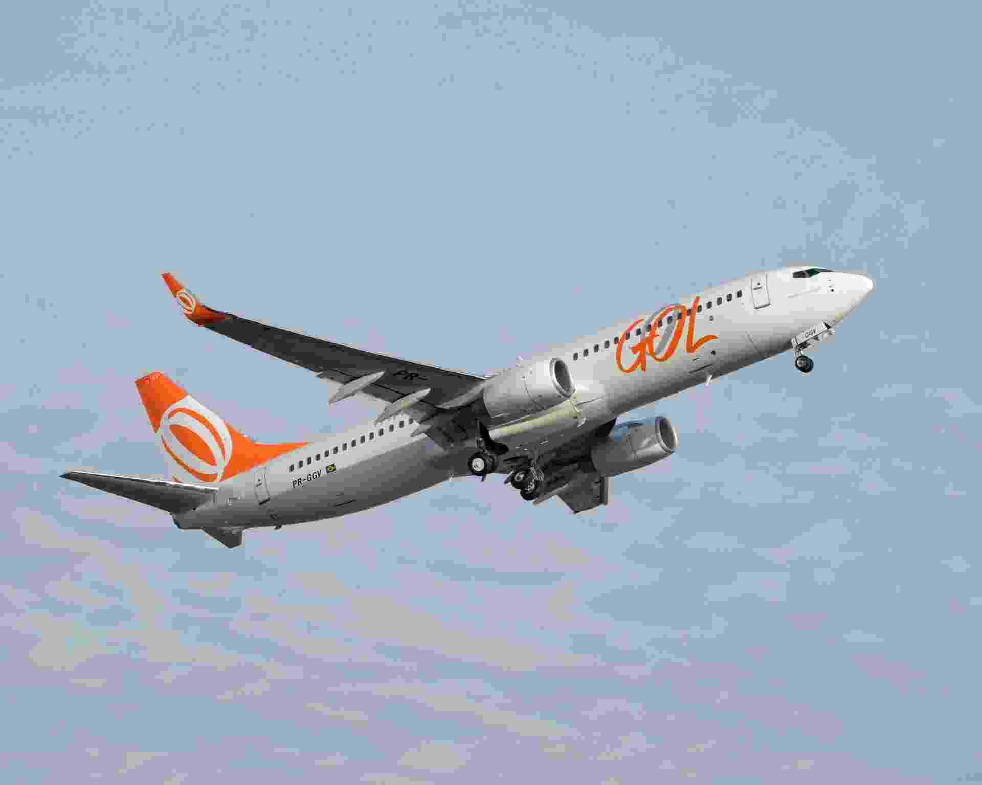 Avião Boeing 737 da Gol. Aviação - Divulgação
