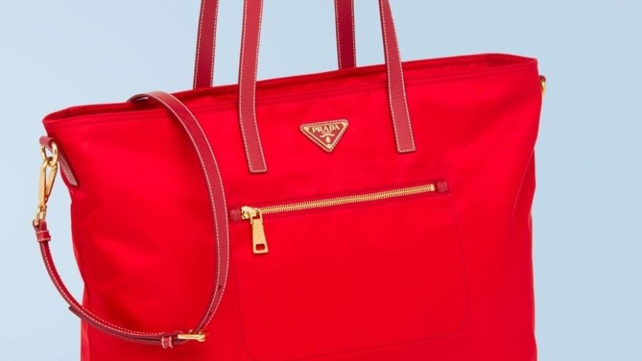 Um modelo das famosas bolsas Prada - Divulgação