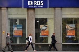 Agência do Royal Bank of Scotland em Londres
