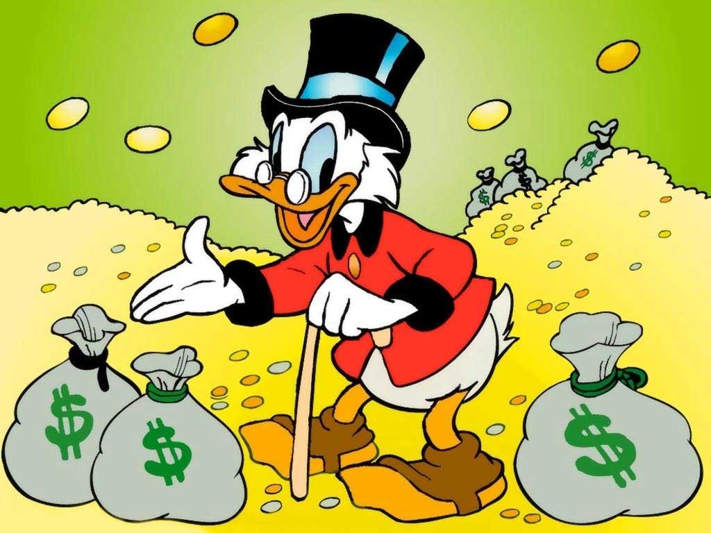 Algumas lições de Tio Patinhas para quem quer ficar milionário - 28/06/2013 - UOL Economia