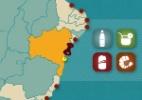 Confira preços de bebidas e petiscos nas praias brasileiras - Arte/UOL