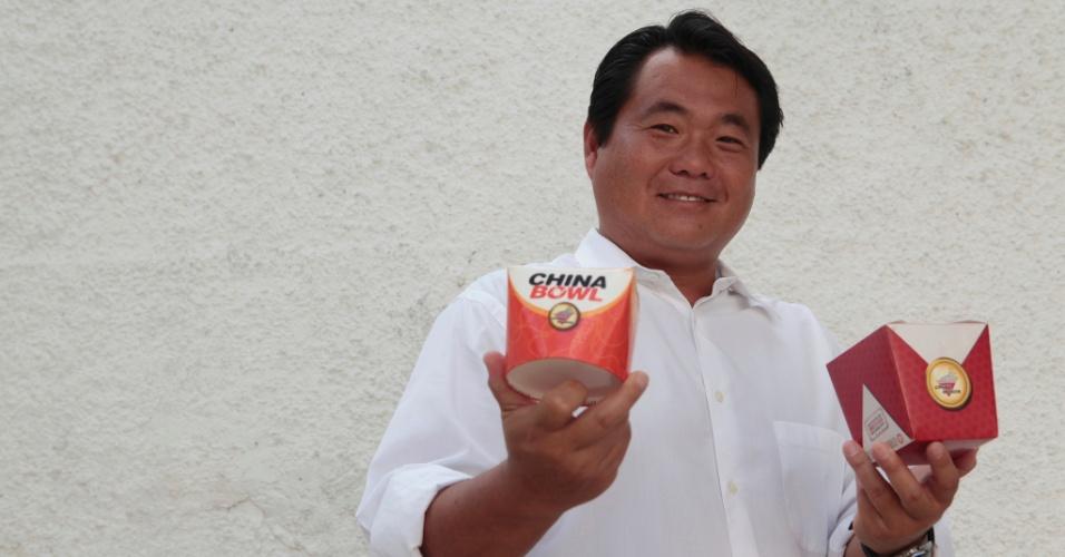 Dono de China in Box aprendeu dicas do negócio lavando pratos
