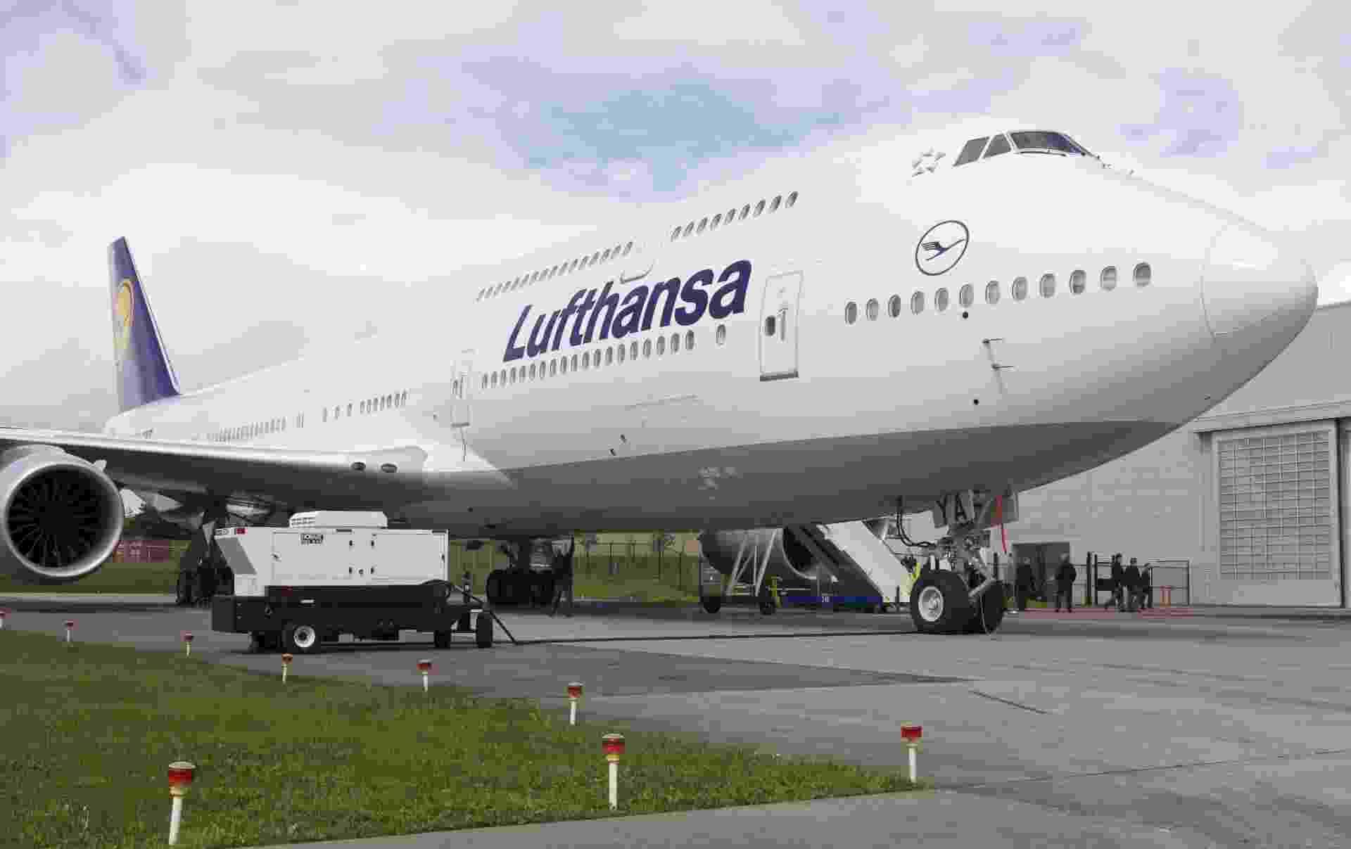 Lufthansa estreia o Boeing 747-8 Intercontinental - Stephen Brashear/Getty Images/AFP