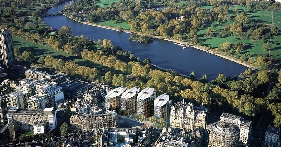 O Hyde Park é um dos principais pontos turísticos de Londres e concentra ao seu redor alguns dos endereços mais caros da capital inglesa