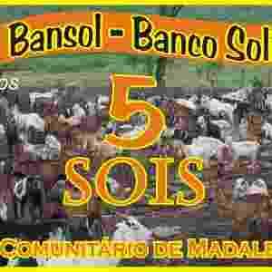 A moeda social usada pelo banco Bansol, no Ceará, é o Sol - Divulgação/ Instituto Palmas