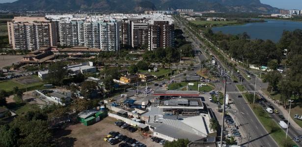 Região onde vai passar corredor expresso no Rio, que ligará a Barra ao aeroporto internacional
