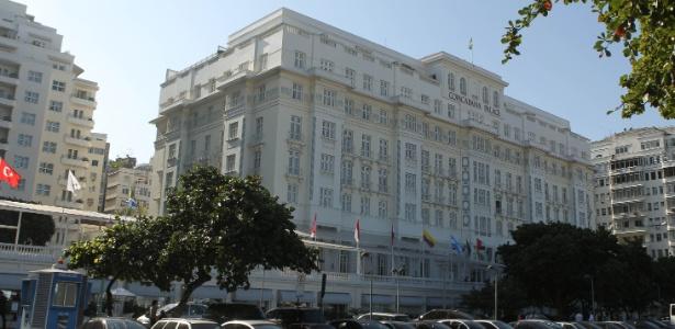 O projeto de reforma do hotel prevê a ampliação do lobby e a renovação de quartos e banheiros  - Júlio César Guimarães/UOL