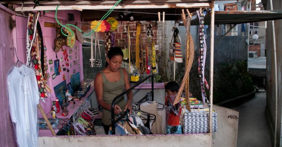 Andréia Miranda, empreendedora do Morro Santa Marta, no Rio de Janeiro (RJ)