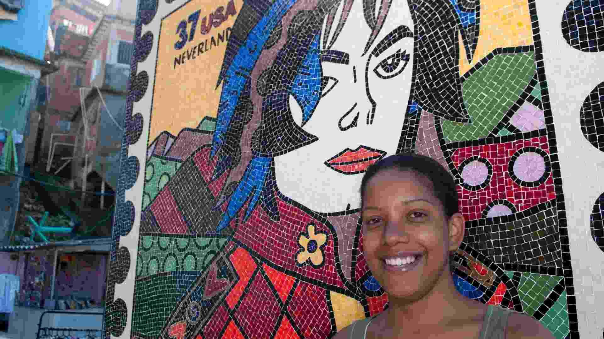 Andréia Miranda, empreendedora do Morro Santa Marta, no Rio de Janeiro (RJ) - Maria Elisa Franco/UOL