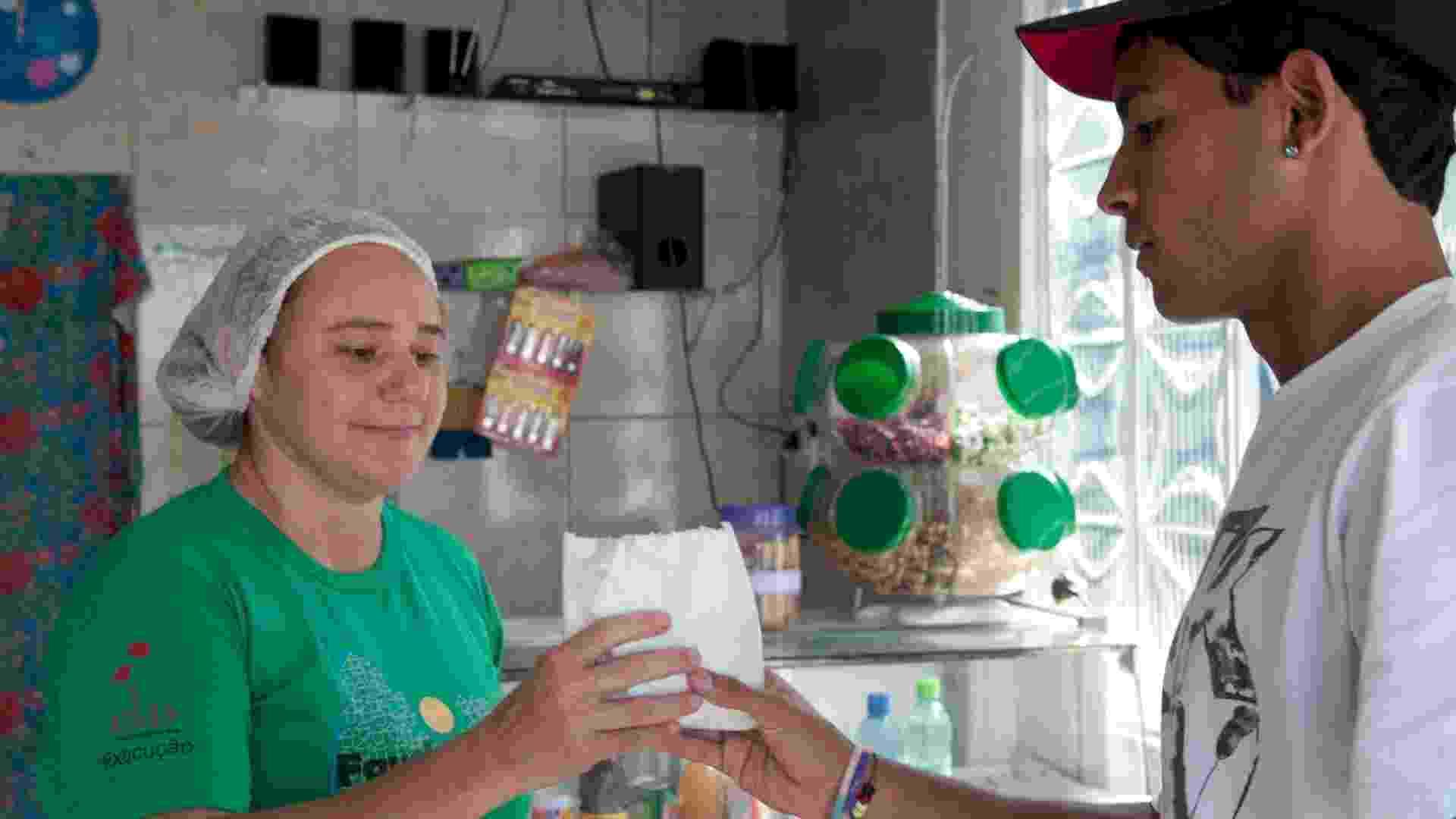 Bar-café Favela Point, no Morro da Providência, Zona Norte do Rio de Janeiro (RJ) - Maria Elisa Franco/UOL
