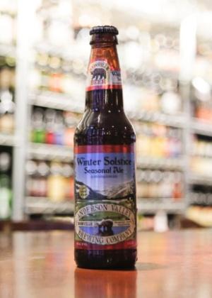 A cerveja Anderson Valley Winter Soltice tem 6,9% de teor alcoólico
