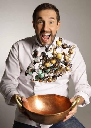 O empresário Alexandre Tadeu da Costa, criador da Cacau show, começou o negócio vendendo chocolates em um fusca branco - Divulgação