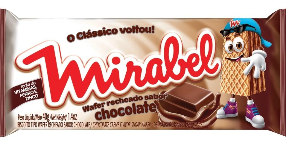 Biscoito Mirabel foi relançado pela Pepsico em 2012