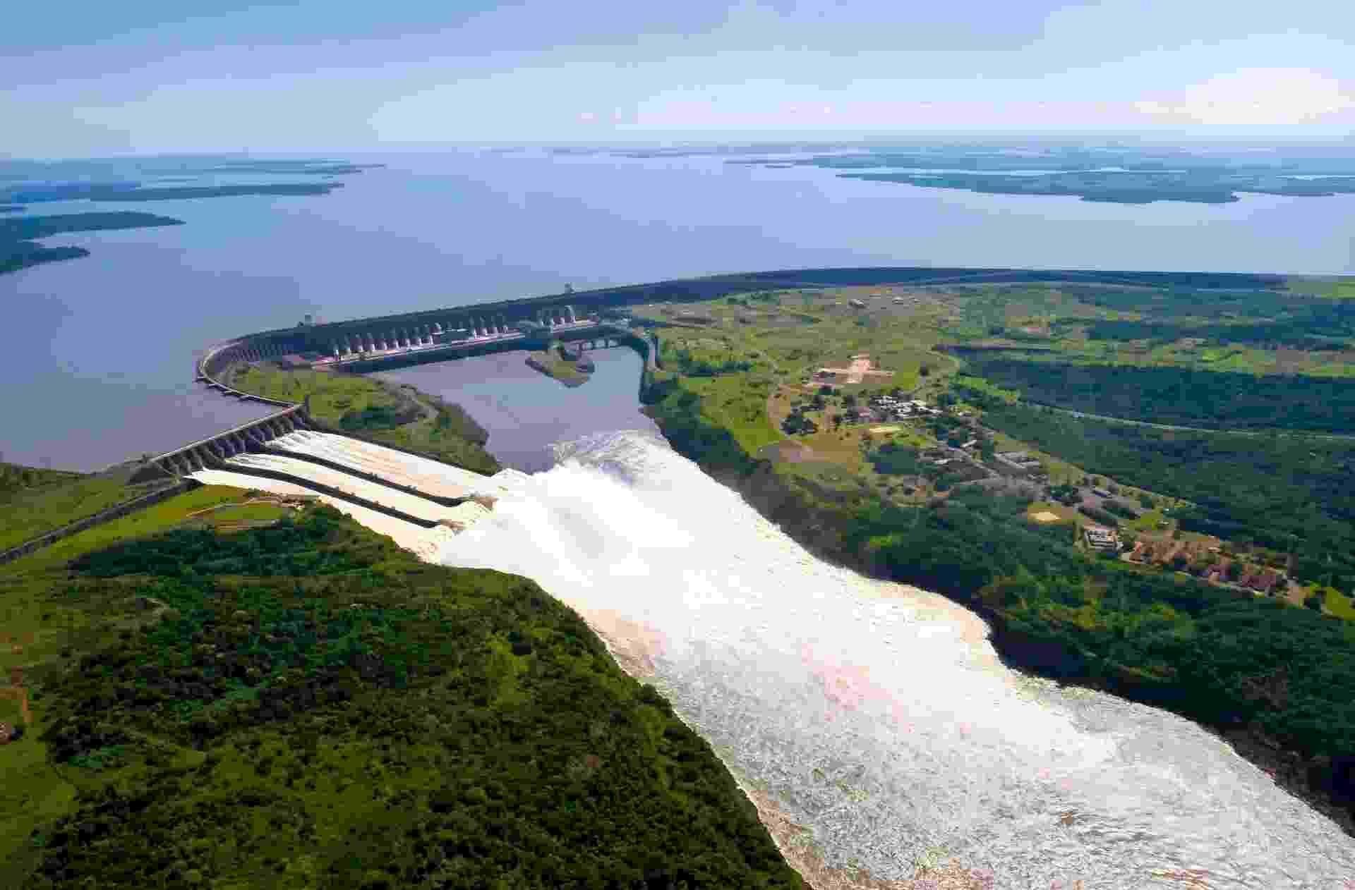 Usina hidrelétrica de Itaipu - Caio Coronel/Divulgação