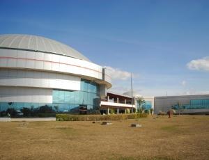 Parque tecnológico de São José dos Campos (SP). A cidade destaca-se nas áreas de aeronáutica, energia e tecnologia para saúde e meio ambiente