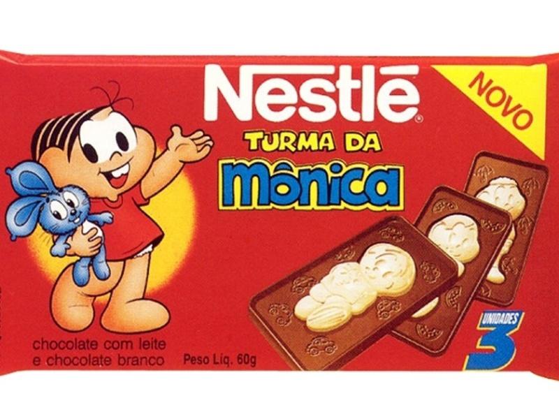 Chocolate da Turma Mônica