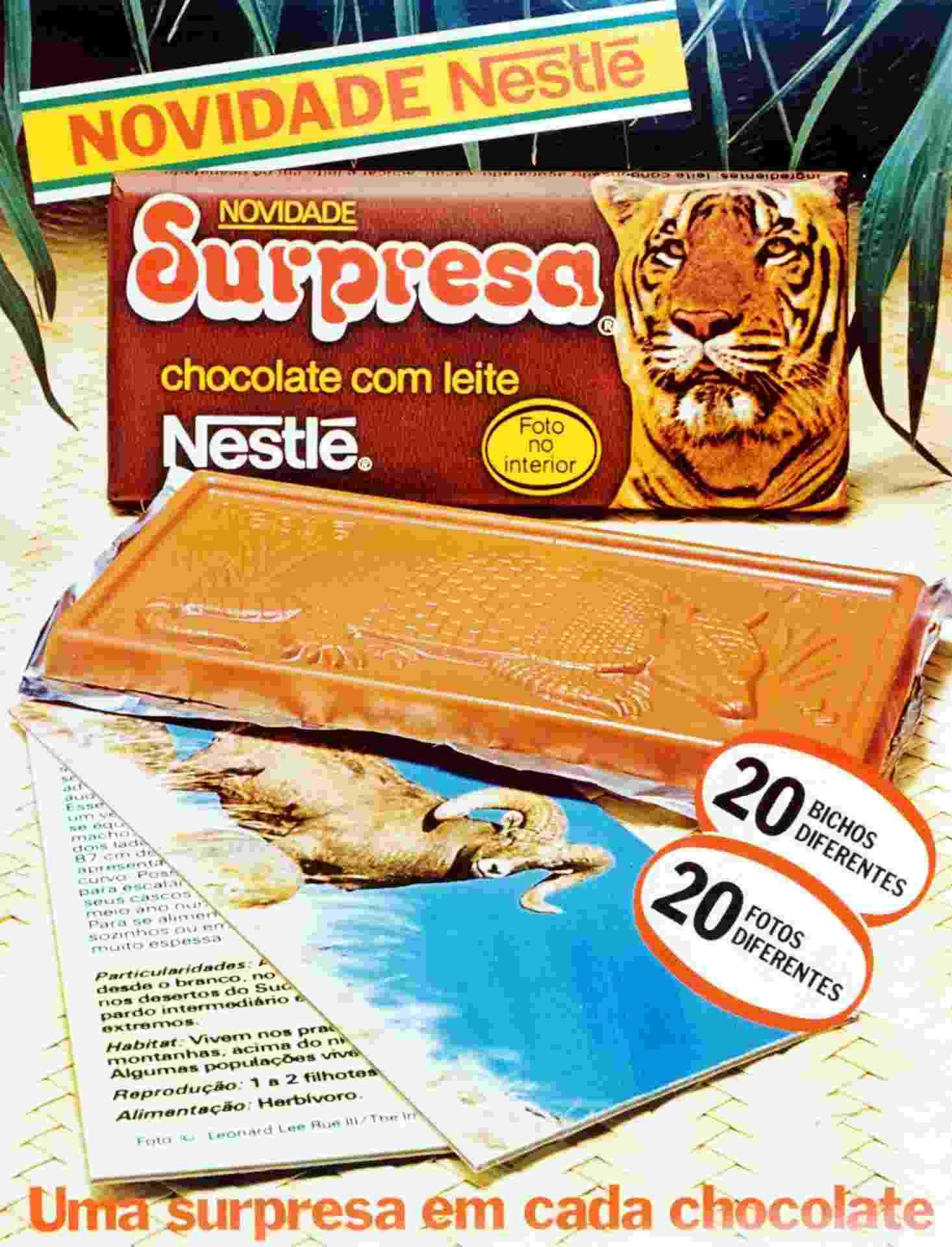 Chocolate Surpresa - Divulgação