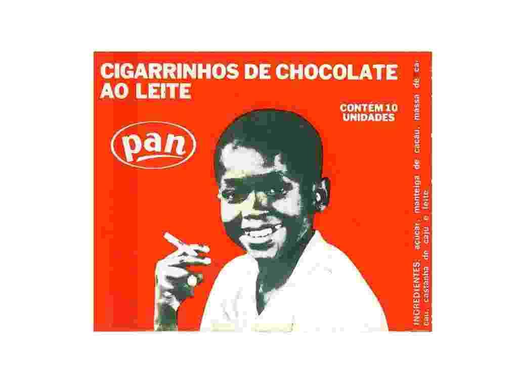 Cigarrinho de chocolate Pan - Acervo Museu Paulista da USP