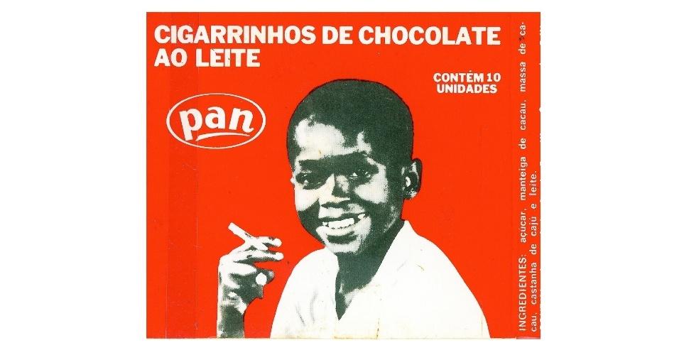 Cigarrinho de chocolate Pan