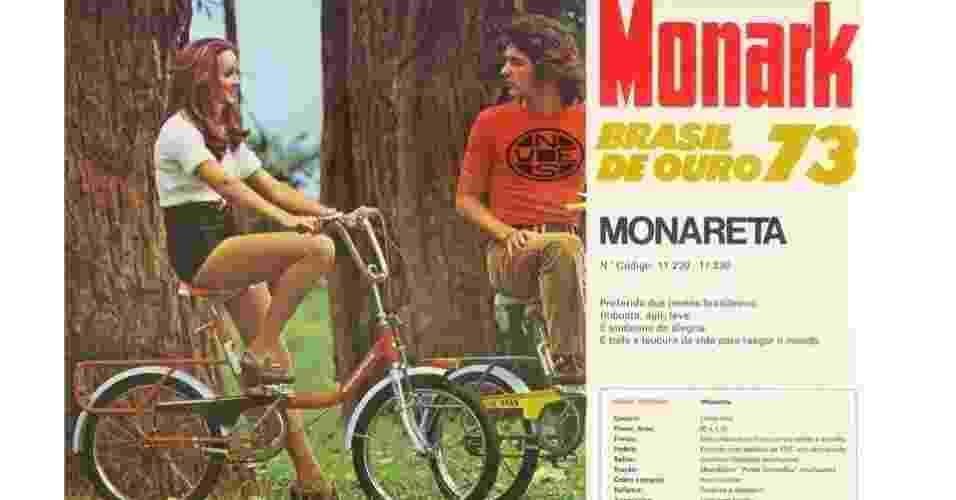 Monareta da Monark - Reprodução