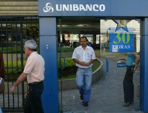 Antiga agência do Unibanco em São Paulo