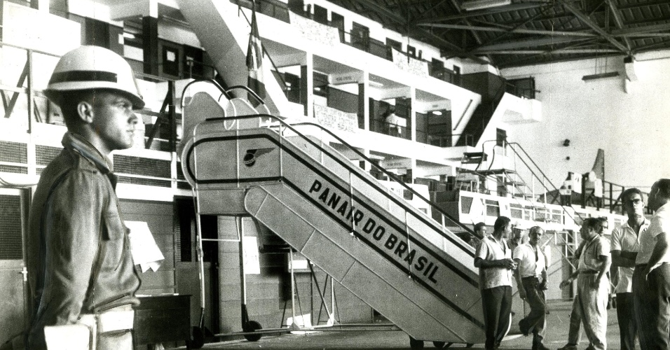 Aviação comercial: decretada a falência da aviação comercial Panair. (16.02.1965)