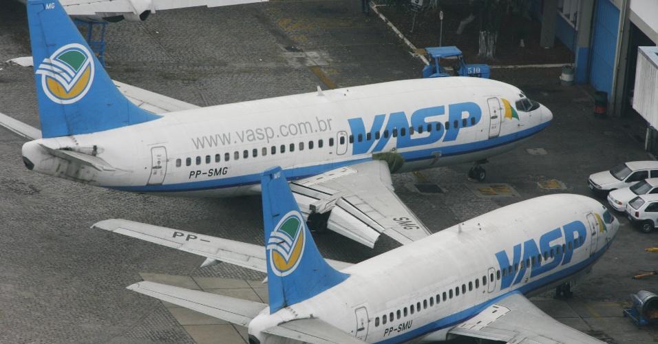 Avião da companhia aérea Vasp