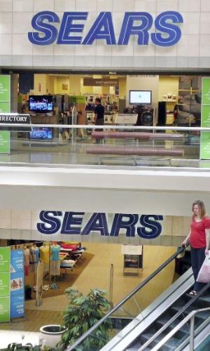 Fachada da Sears no Fair Oaks Mall, em Northern Virginia (EUA)