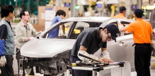 Em relação a fevereiro, produção cresceu 39%; no trimestre, setor registra produção 12% maior que 2012 - Leonardo Soares/UOL
