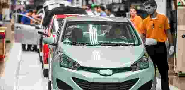 Marca inaugurou sua primeira fábrica no Brasil, na cidade de Piracicaba (SP), com capacidade inicial de 34 carros/hora - Leonardo Soares/UOL