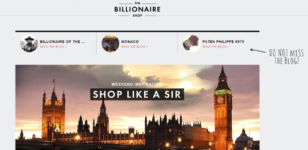 cc42a66da3b Fotos  Site oferece produtos de luxo para os ricos - 03 01 2013 - UOL  Economia