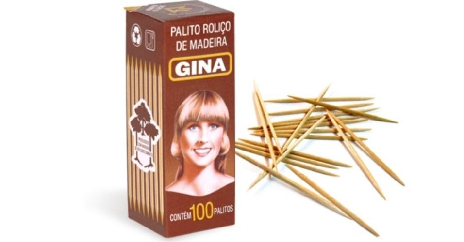 Caixa de palitos Gina