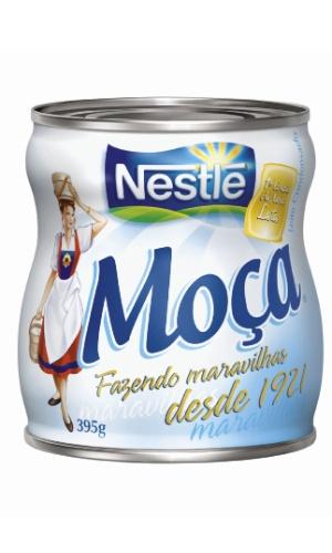 Lata de Leite Moça, da Nestlé